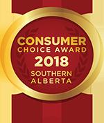 Consumer Choice Award 2018 Southern Alberta